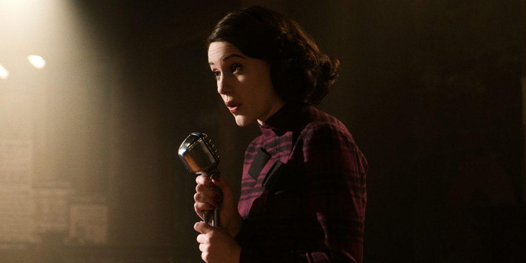 Still of Rachel Brosnahan in The Marvelous Mrs. Maisel