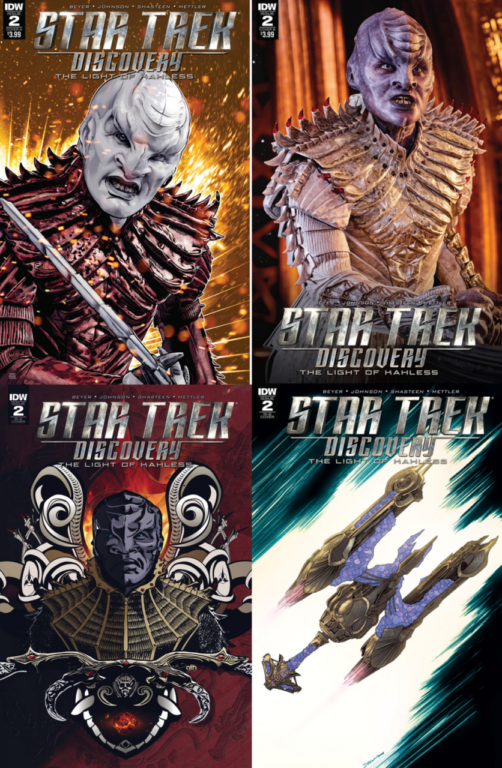 Star Trek Discovery The Light Of Kahless Number 2 IDW Covers Mike Johnson Kirsten Beyer JD Mettler ANDWorld Design Tony Shasteen Aaron Harvey Declan Shavley Jordie Bellaire