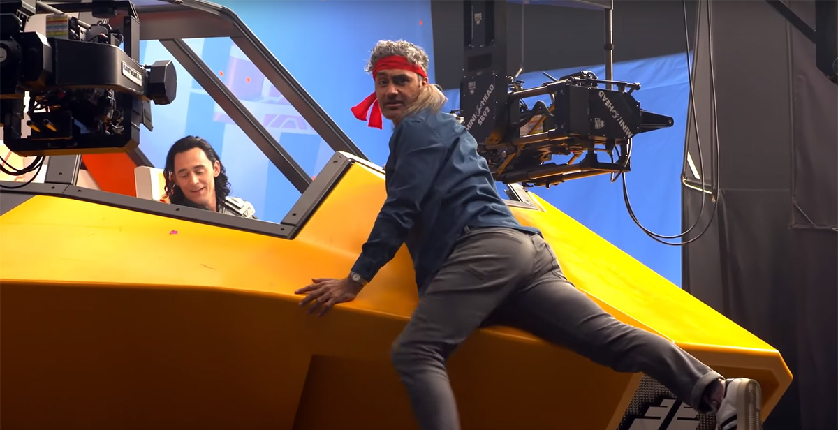 Director Taika Waititi Is HILARIOUS in THOR: RAGNAROK's Blooper Reel
