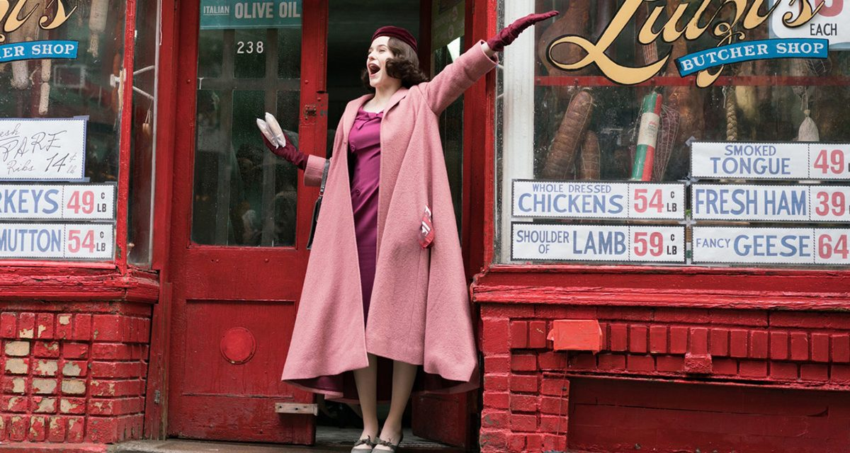 Why THE MARVELOUS MRS. MAISEL Makes Us Proud