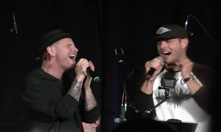Watch SUPERNATURAL's Jensen Ackles and Corey Taylor Bring the Down the House
