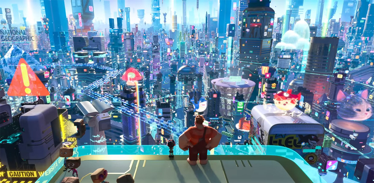 WRECK-IT RALPH Truly Breaks the Internet in First Sequel Trailer