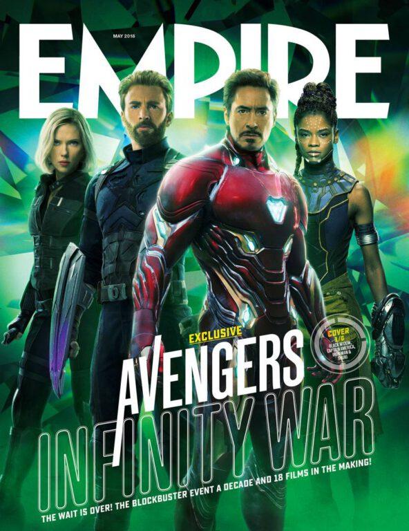 Empire Avengers Infinity War Cover 1 Black Widow Captain America Iron Man Shuri