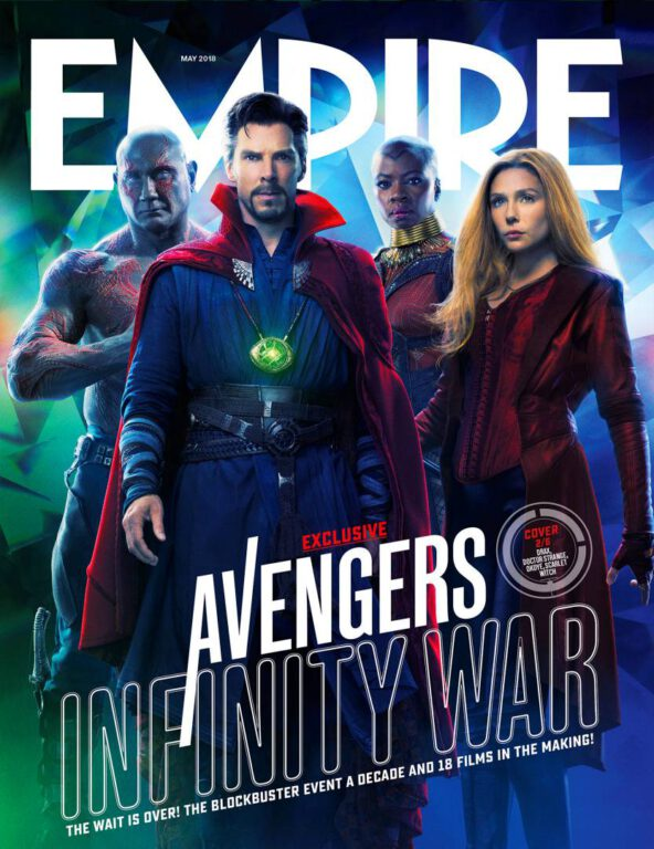 Empire Avengers Infinity War Cover 2 Drax Doctor Strange Okoye Scarlet Witch