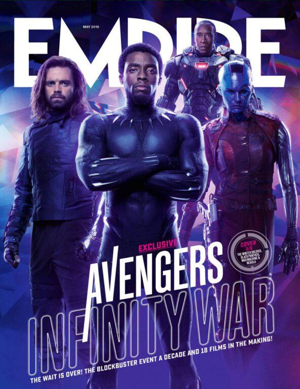 Empire Avengers Infinity War Cover 3 Bucky Barnes Black Panther War Machine Nebula