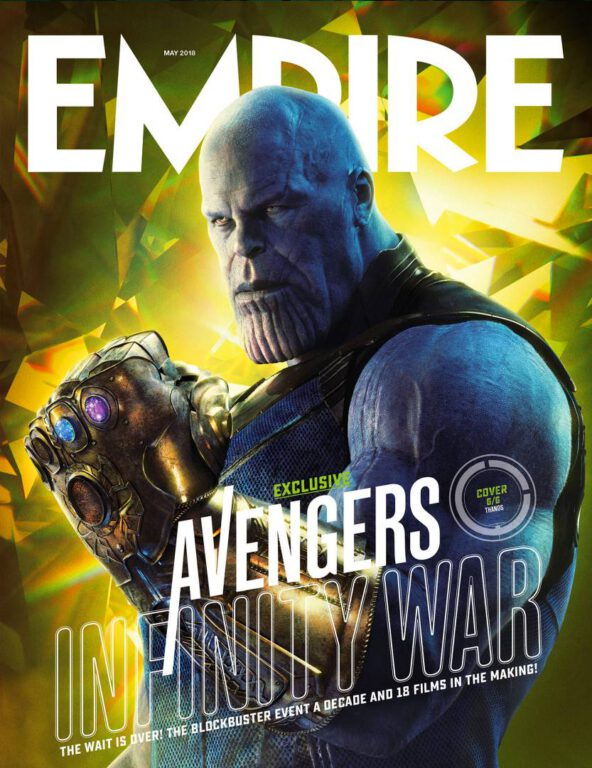 Empire Avengers Infinity War Cover 6 Thanos