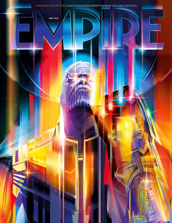 Empire Avengers Infinity War Subscriber Exclusive Cover Thanos