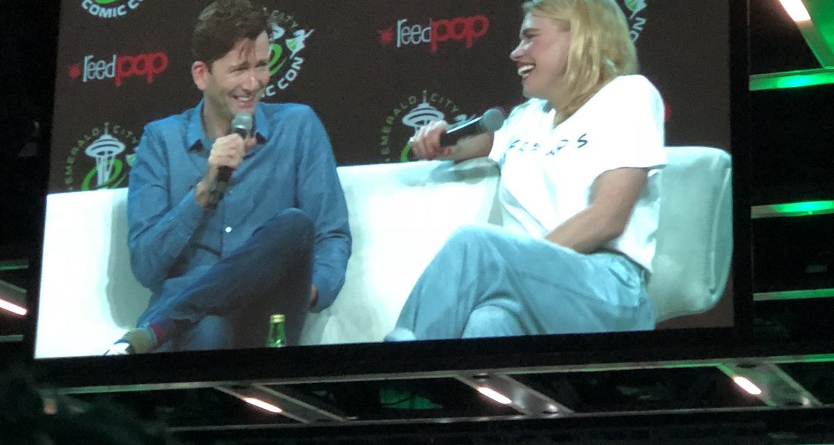 ECCC 2018: David Tennant and Billie Piper Open the Show with a Packed House