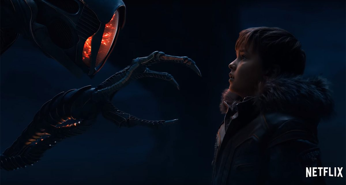 Robot Gets an Upgrade in New LOST IN SPACE Trailer