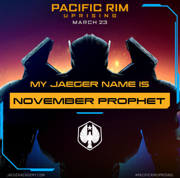 Name Your Jaeger With This Fun PACIFIC RIM UPRISING Name