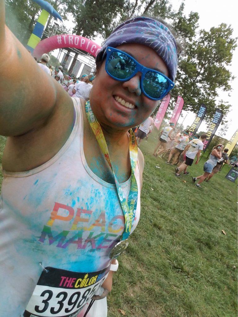 Patricia Ogura Color Run Fangirl Shirts Peacemaker Wynonna Earp Earpercize