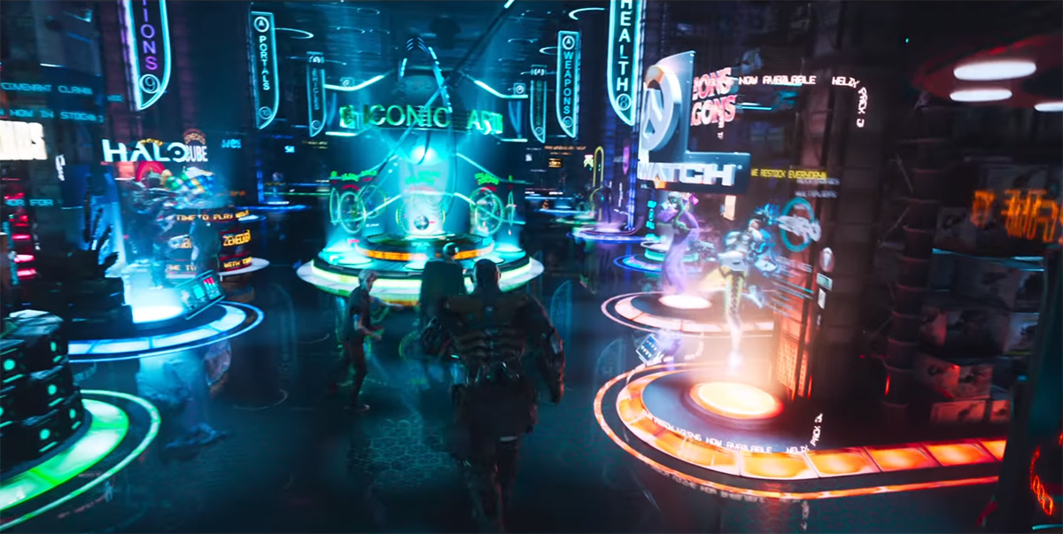 Behold the Majesty of the Oasis in This New READY PLAYER ONE Trailer