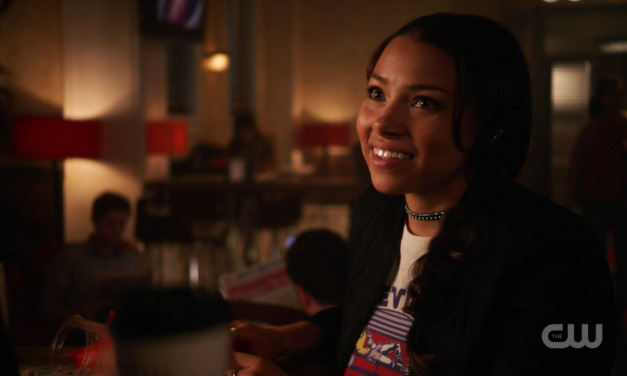 Who Is the Mystery Girl in THE FLASH?