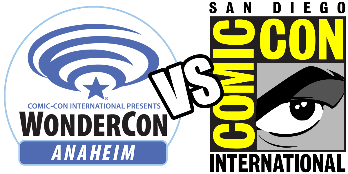 SDCC vs. WONDERCON: First Impressions