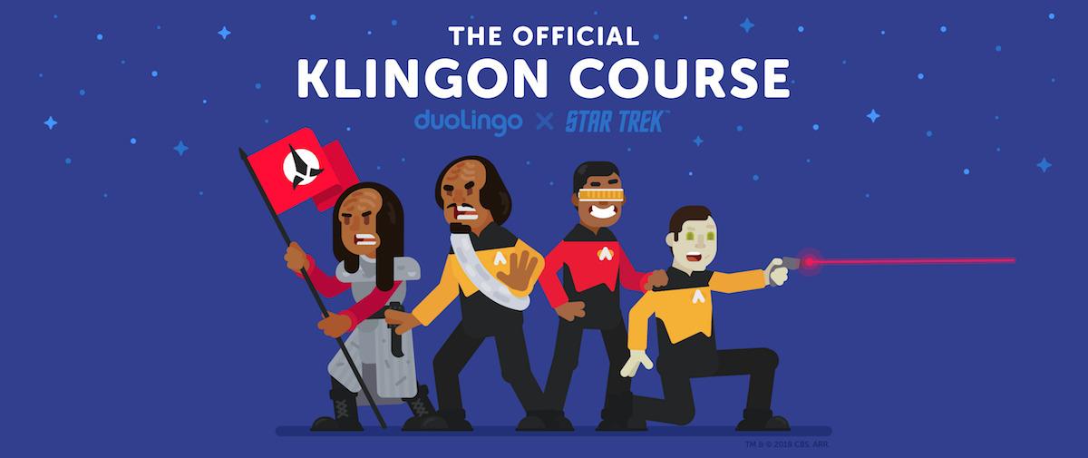 DuoLingo App Is Offering a Free Course in Klingon