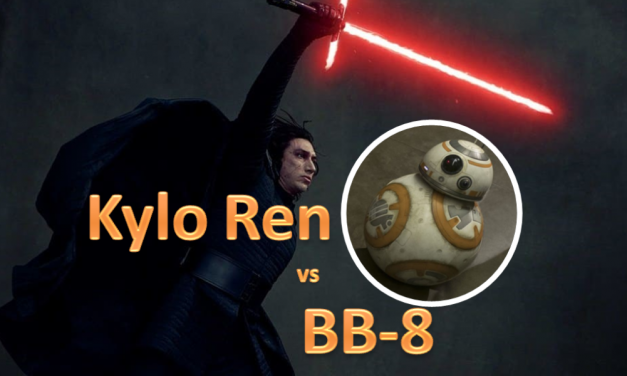 Watch Kylo Ren Battle BB-8 In Adorable Animal Sanctuary Video Clip