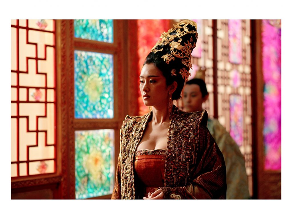 Li Gong as Empress Phoenix in Curse of the Golden Flower | imdb.com