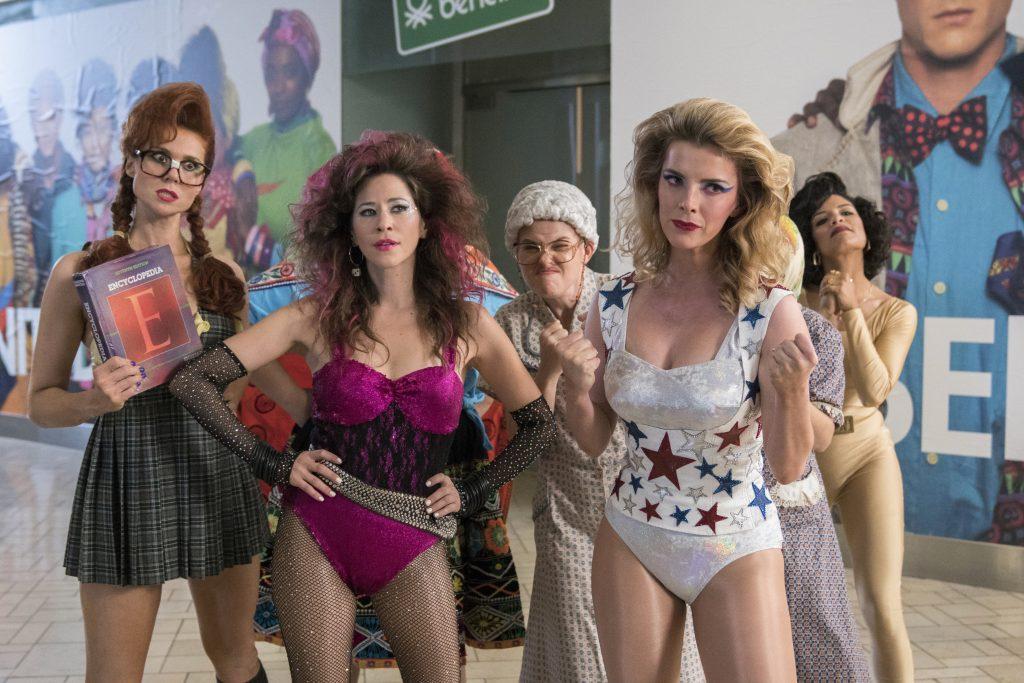 Kate Nash, Jackie Tohn, Kimmy Gatewood, Betty Gilpin, Shakira Barrera | GLOW © Erica Parise / Netflix