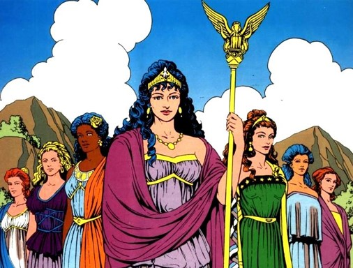 Queen Hippolyta and the Amazons, DC Comics