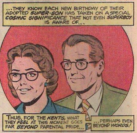 Superman: Martha and Jonathan Kent, New Adventures of Superboy #1 (January 1980) / Art by Kurt Schaffenberger