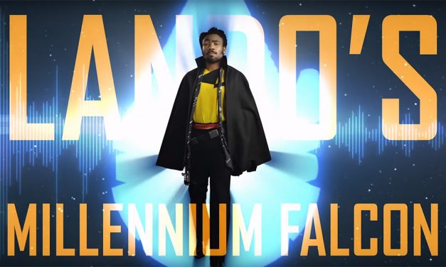 Tour the Sleek and Stylish Millennium Falcon with Donald Glover