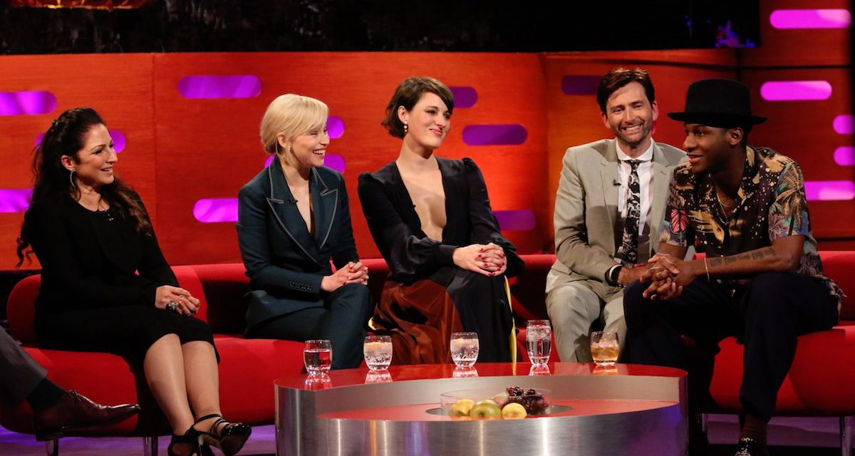 THE GRAHAM NORTON SHOW: Emilia Clarke, Phoebe Waller-Bridge and David Tennant Talk Insider Info and Brad Pitt