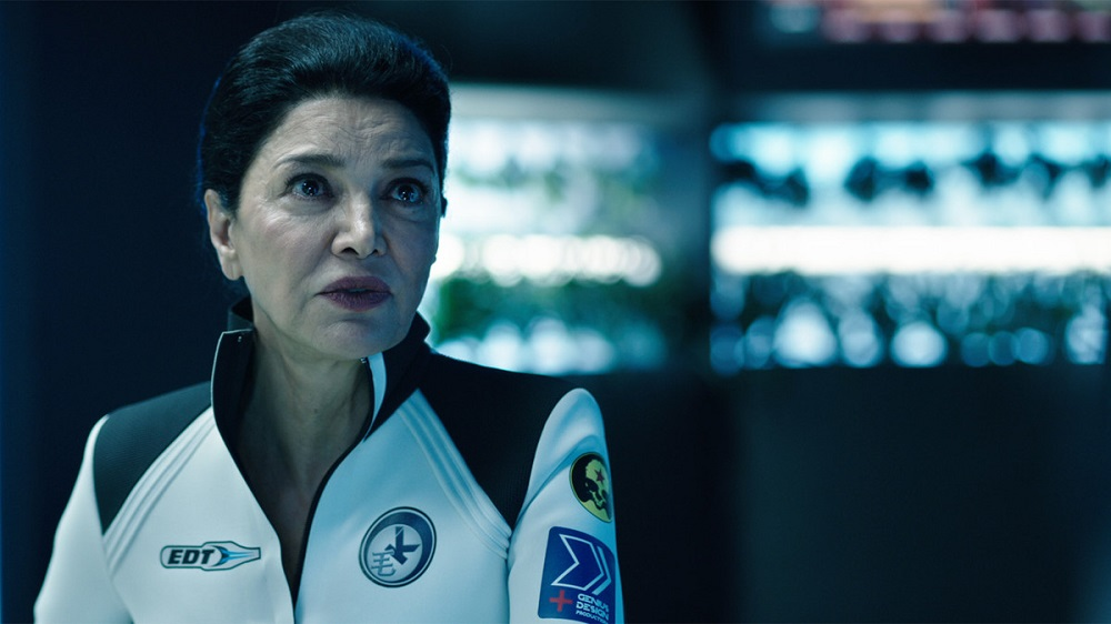 Still of Shohreh Aghdashloo in The Expanse