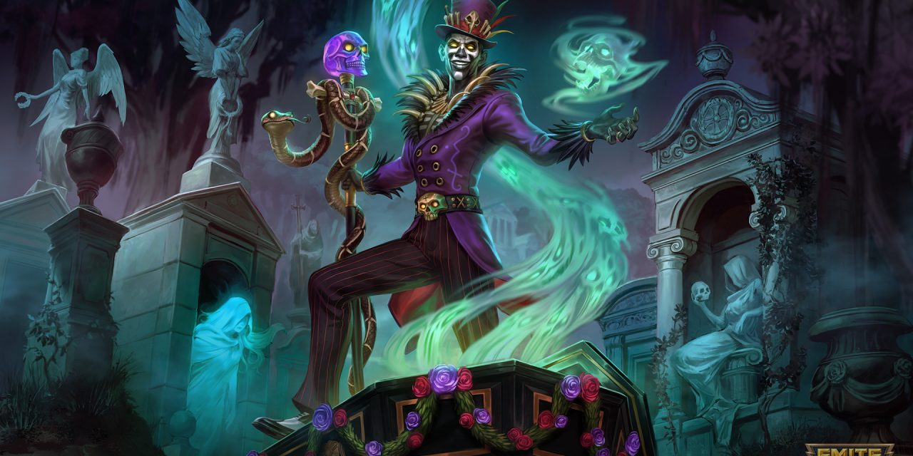 Baron Samedi Is Bringing Voodoo to the SMITE Battlegrounds