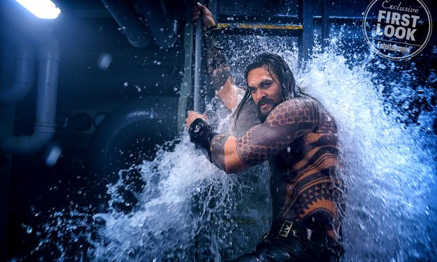 AQUAMAN Gains New Logo and Debut Trailer Release Date