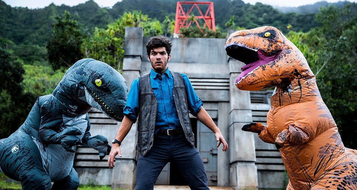 JURASSIC WORLD Gets the Parkour Treatment