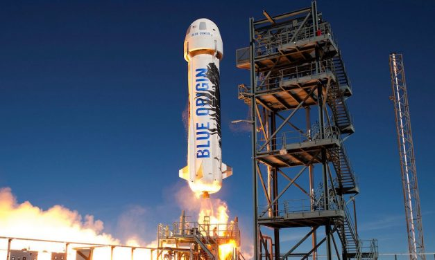 Blue Origin Preps to Sell Tickets for Suborbital Space Flight