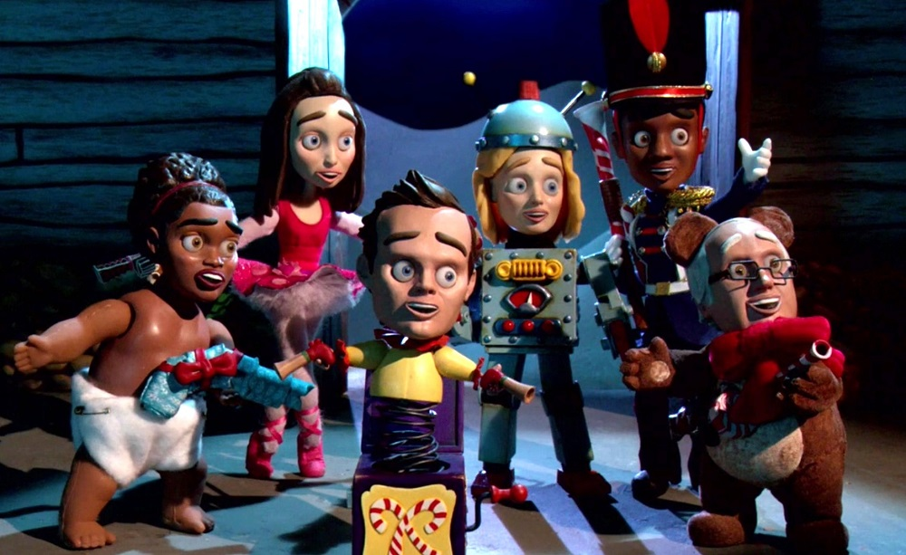 Still of cast of Community in animated form