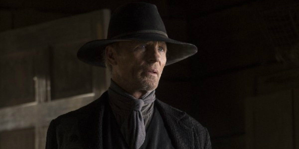 man in black ed harris westworld Les Écorchés HBO