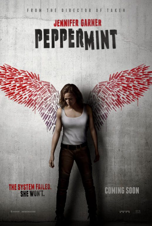 Jennifer Garner Peppermint