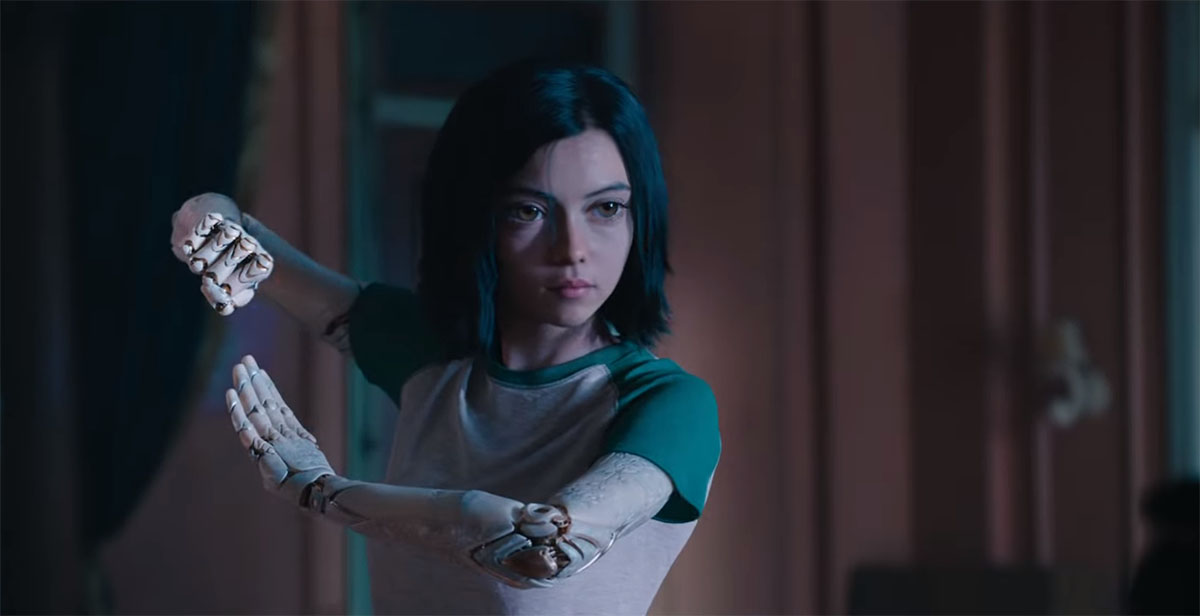 The Hunt Is On in the New ALITA: BATTLE ANGEL Trailer