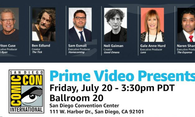 SDCC 2018: Amazon Prime TV Panel Highlights Including GOOD OMENS, LORE and More
