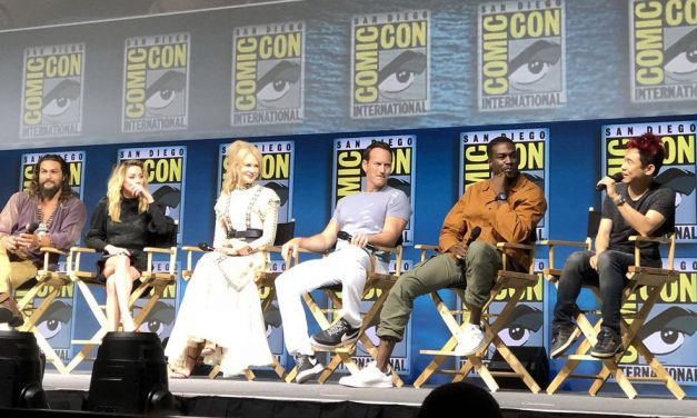 SDCC 2018: AQUAMAN Storms Hall H for a Whale of a Time