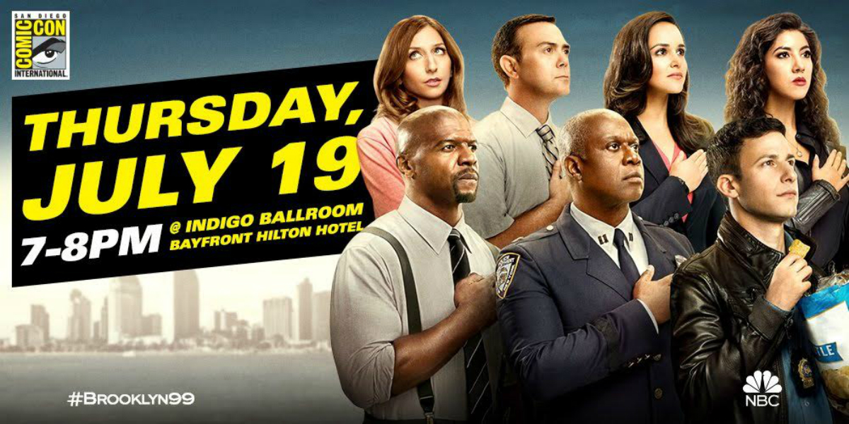SDCC 2018: BROOKLYN NINE-NINE Panel (Title of Your Sex Tape)