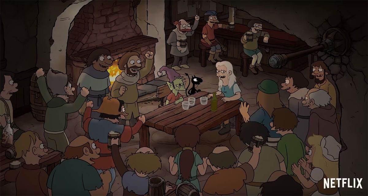 SDCC 2018: Misadventure Awaits in Dreamland in New DISENCHANTMENT Trailer