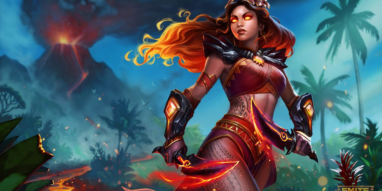 Pele, the Goddess of Volcanoes, is Erupting onto the SMITE Battlegrounds