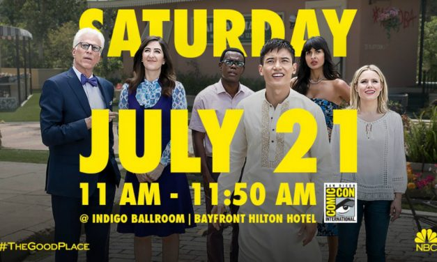 SDCC 2018: THE GOOD PLACE Panel Was So Forking Good