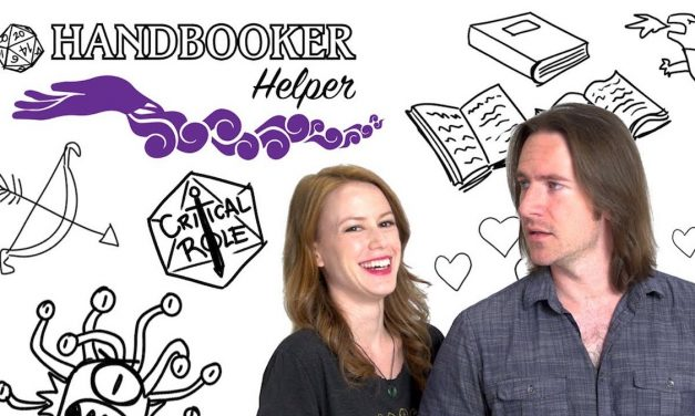 HANDBOOKER HELPER: New Critical Role Series Will Help with Dungeons and Dragons Basics