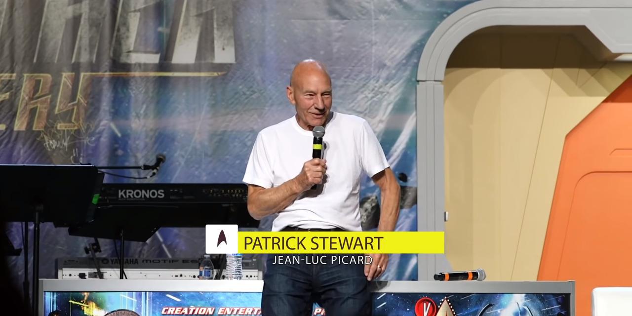 Oh Captain! Sir Patrick Stewart Returns to STAR TREK!