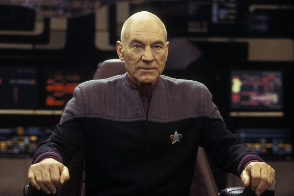 Sir Patrick Stewart as Captain Jean-Luc Picard in Star Trek: Nemesis | © Paramount Pictures Corporation