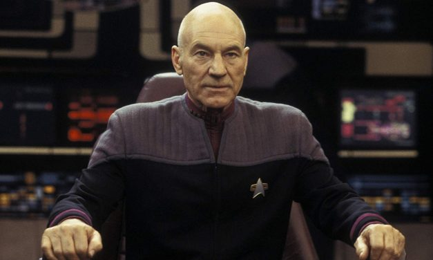 Patrick Stewart and the New STAR TREK Writing Team Start Their New Journey