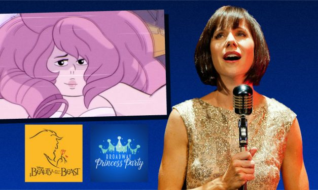 STEVEN UNIVERSE's Rose Quartz, Susan Egan, Steps Out with the BROADWAY PRINCESS PARTY