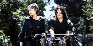 Carol and Daryl, a.k.a. Caryl, on The Walking Dead