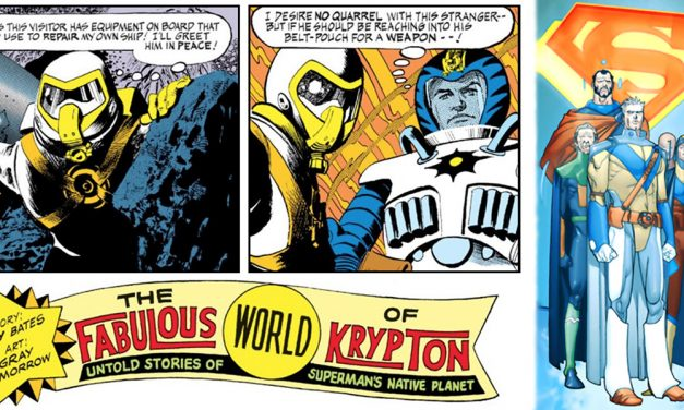 Kistler's Nerdy Love Letters: The First People of Superman's Native Planet Krypton