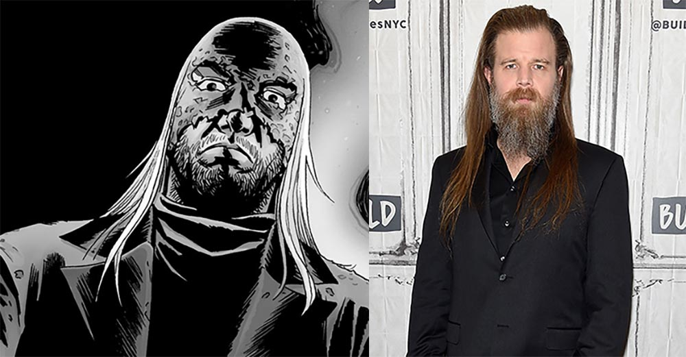 THE WALKING DEAD Cast SONS OF ANARCHY Favorite Ryan Hurst for Season 9