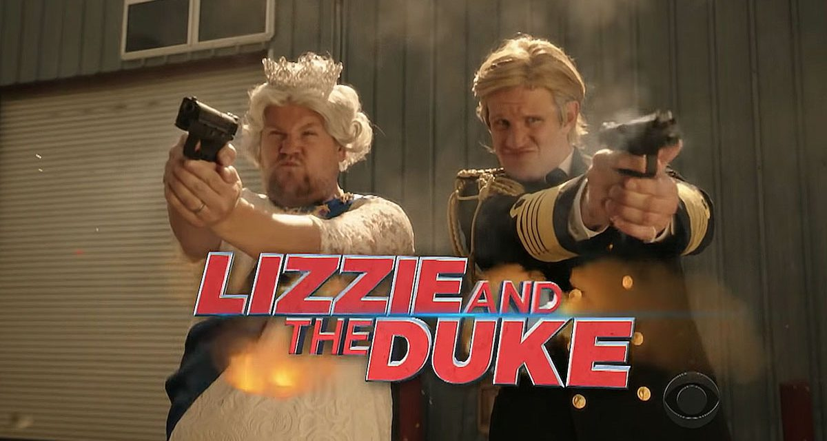 James Corden and Matt Smith Play Good Cop, Queen Cop in LIZZIE AND THE DUKE